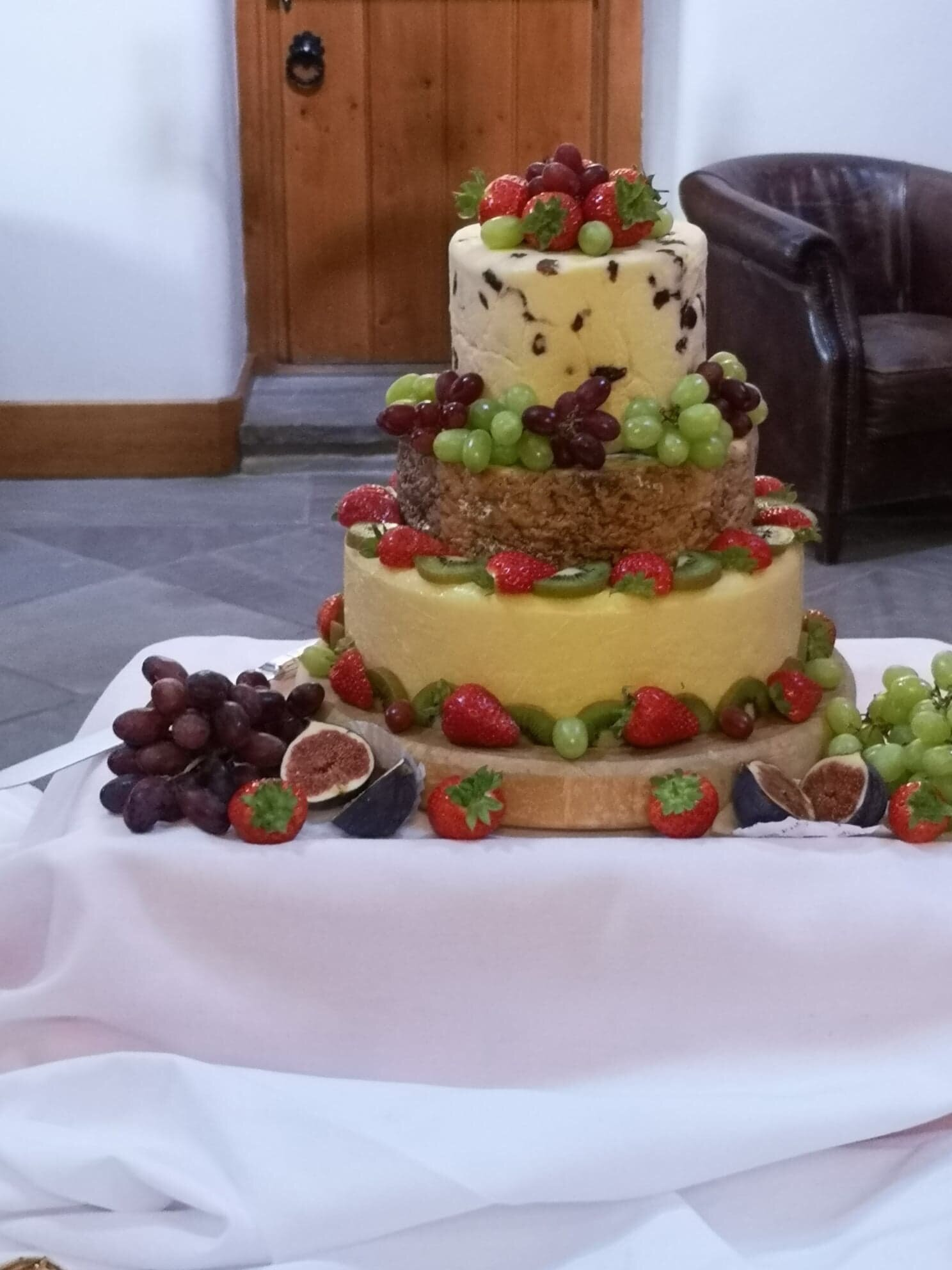 Cheese Please…Cake of cheeses are the latest craze to hit the wedding scene!