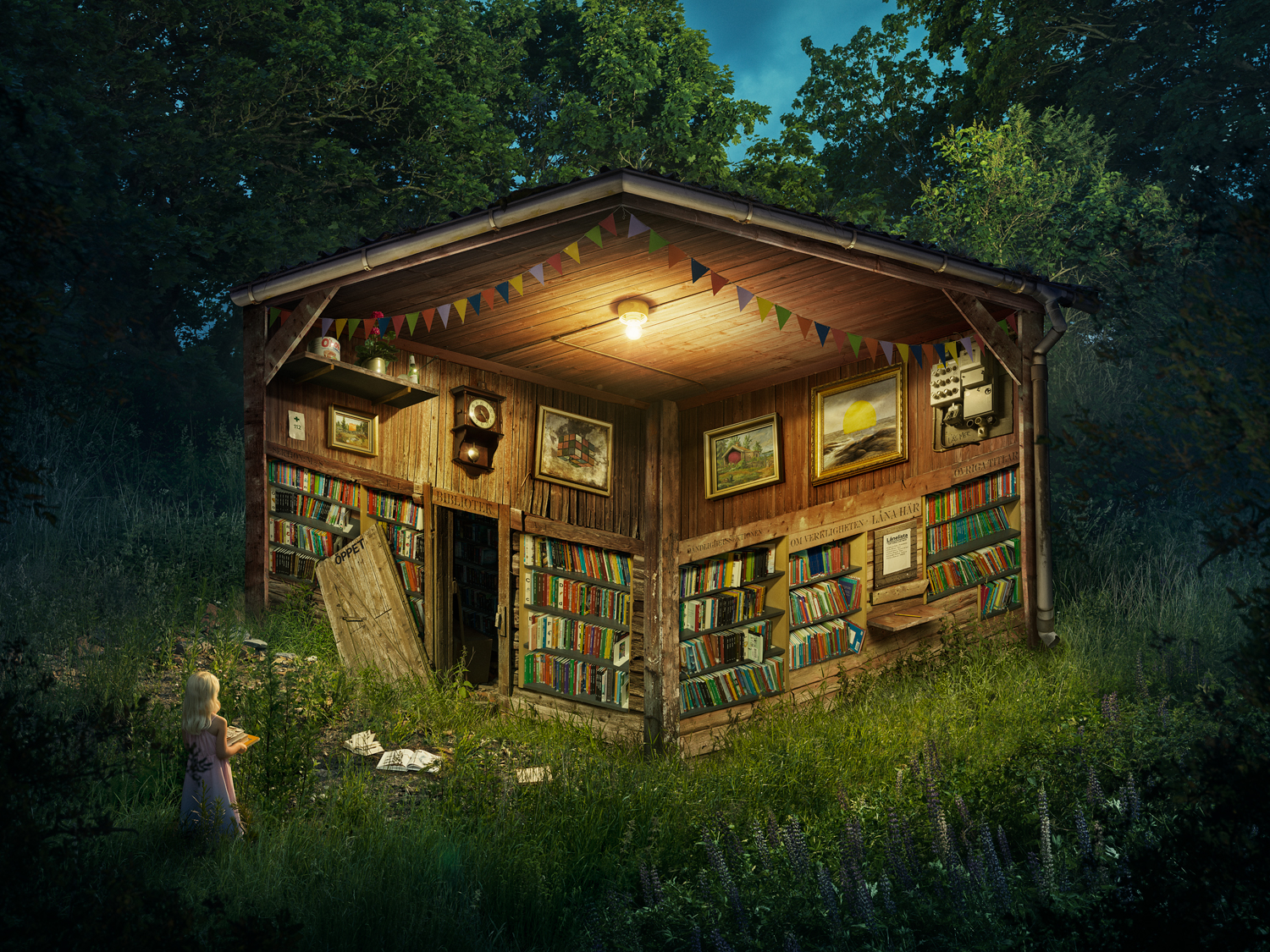 The Forest Library, 2019