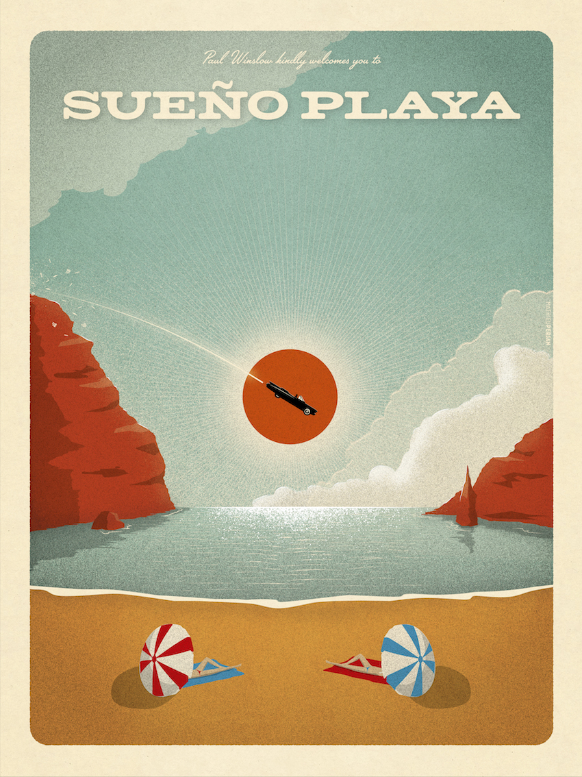 Sueno Playa / Record Cover