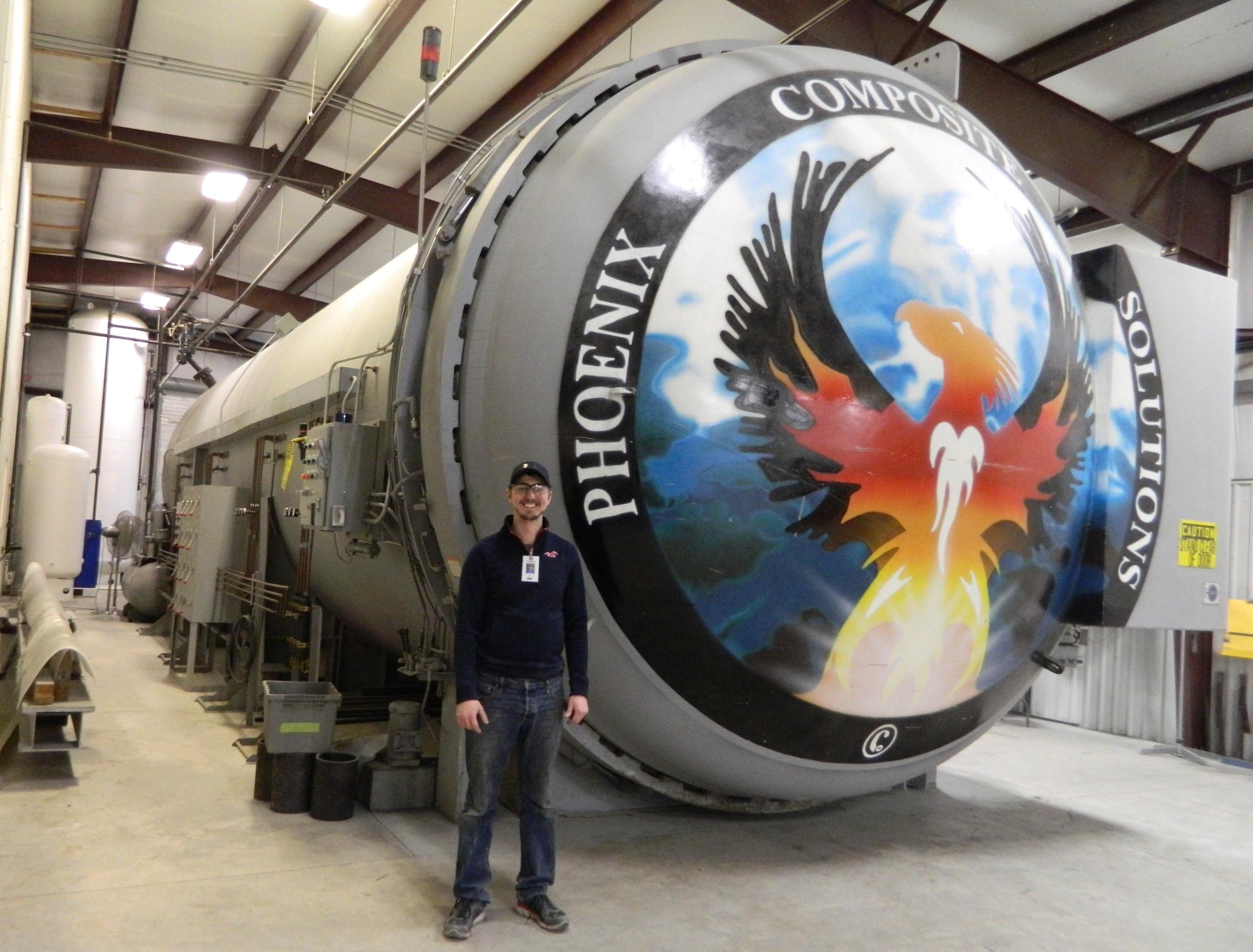 Large Autoclave 13' diameter x 42' long