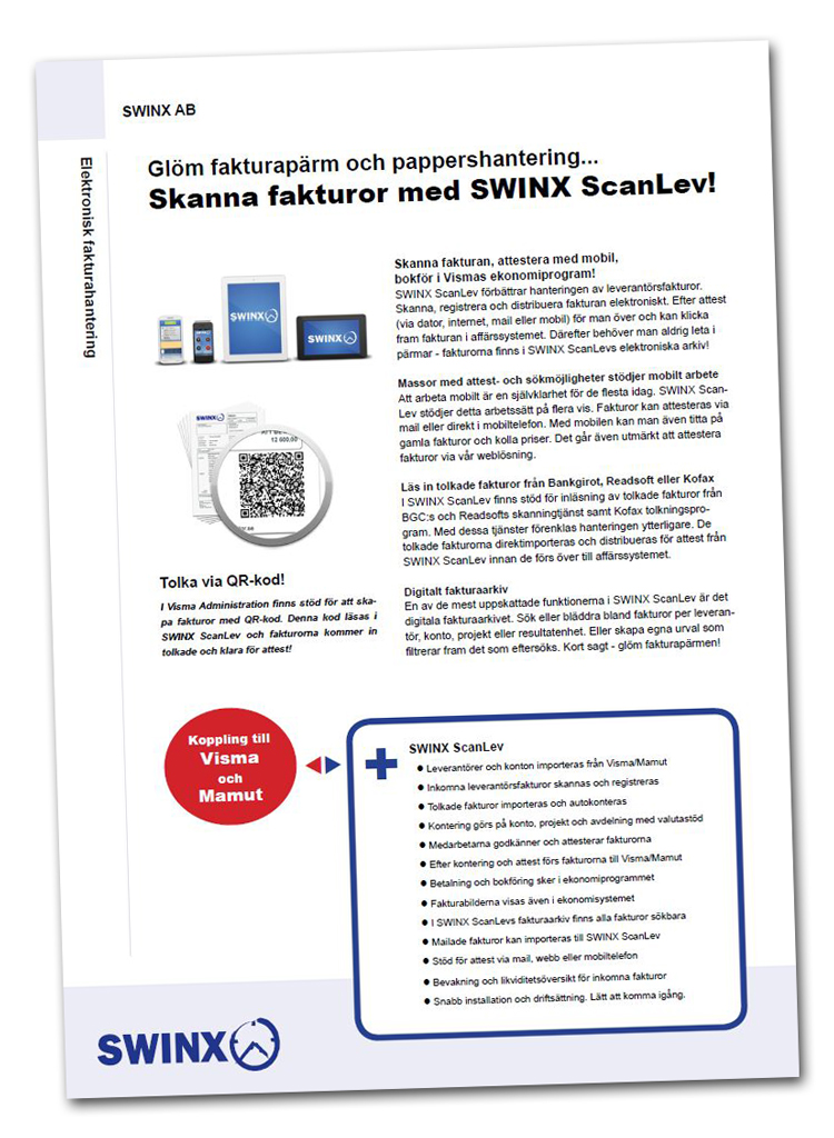 SWINX-ScanLev