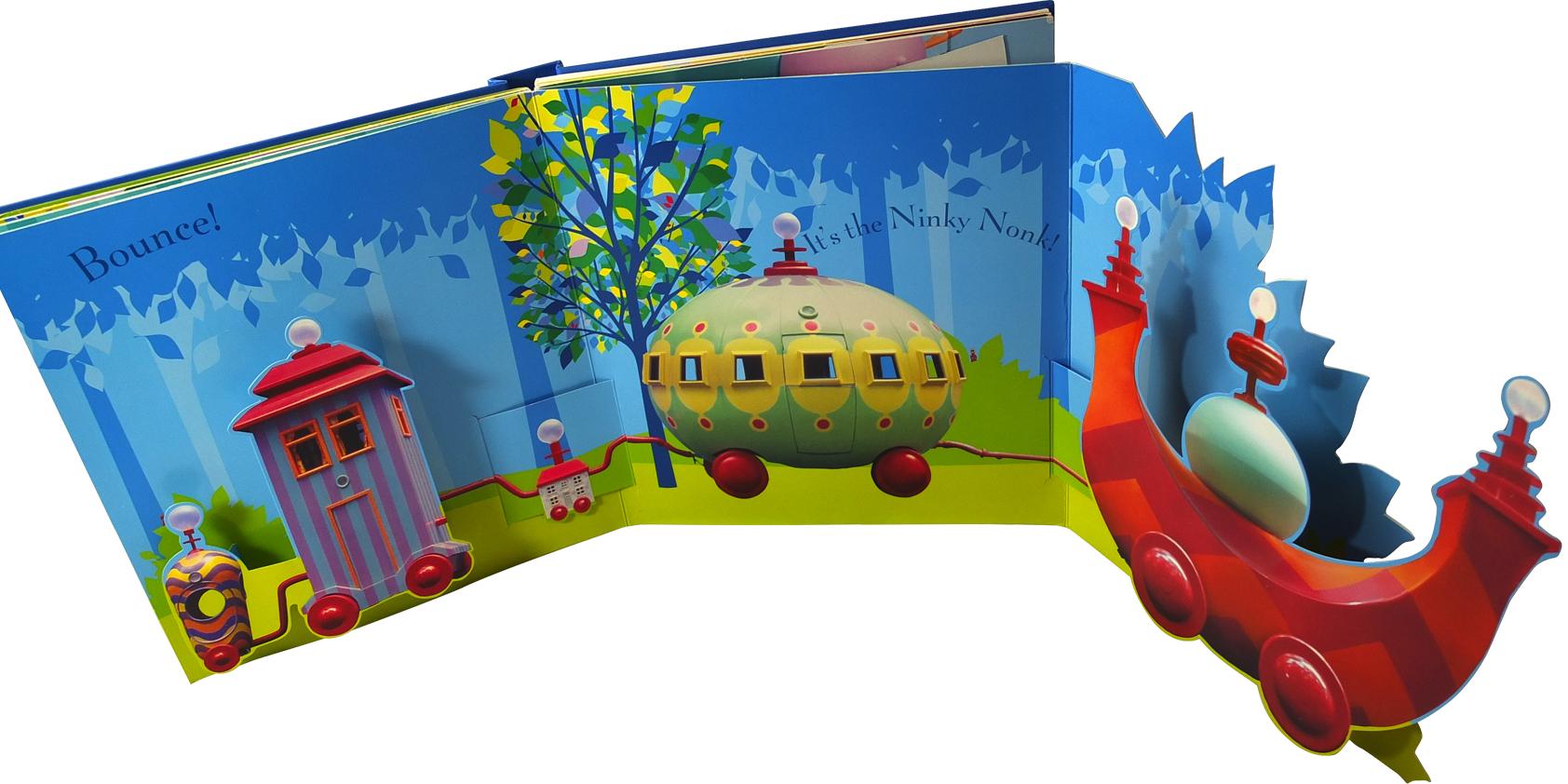 In the Night Garden pop-up book - Jo Garden