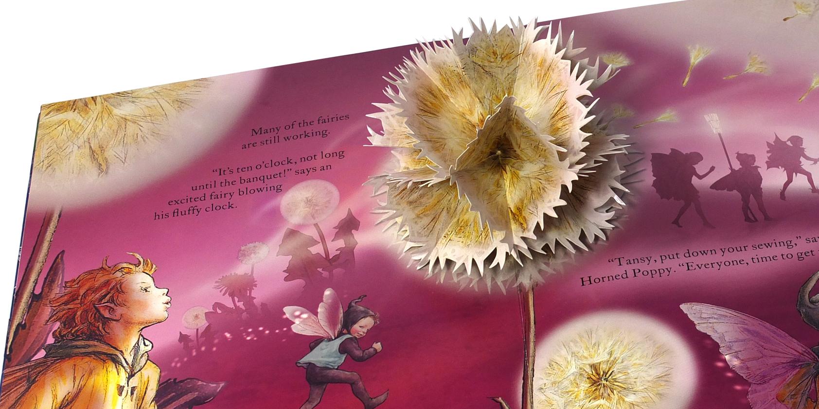 Flower Fairies - Jo Garden paper engineering