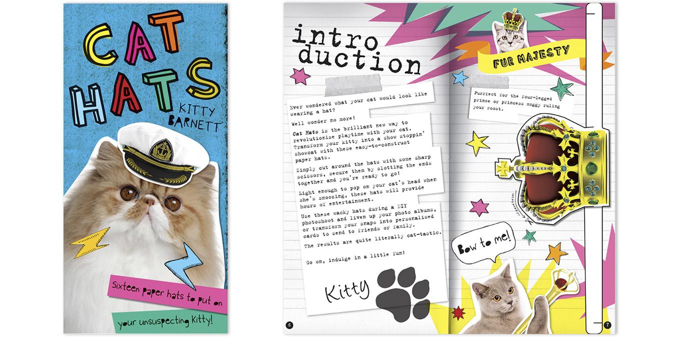 Cats Hats - Jo Garden design and illustration