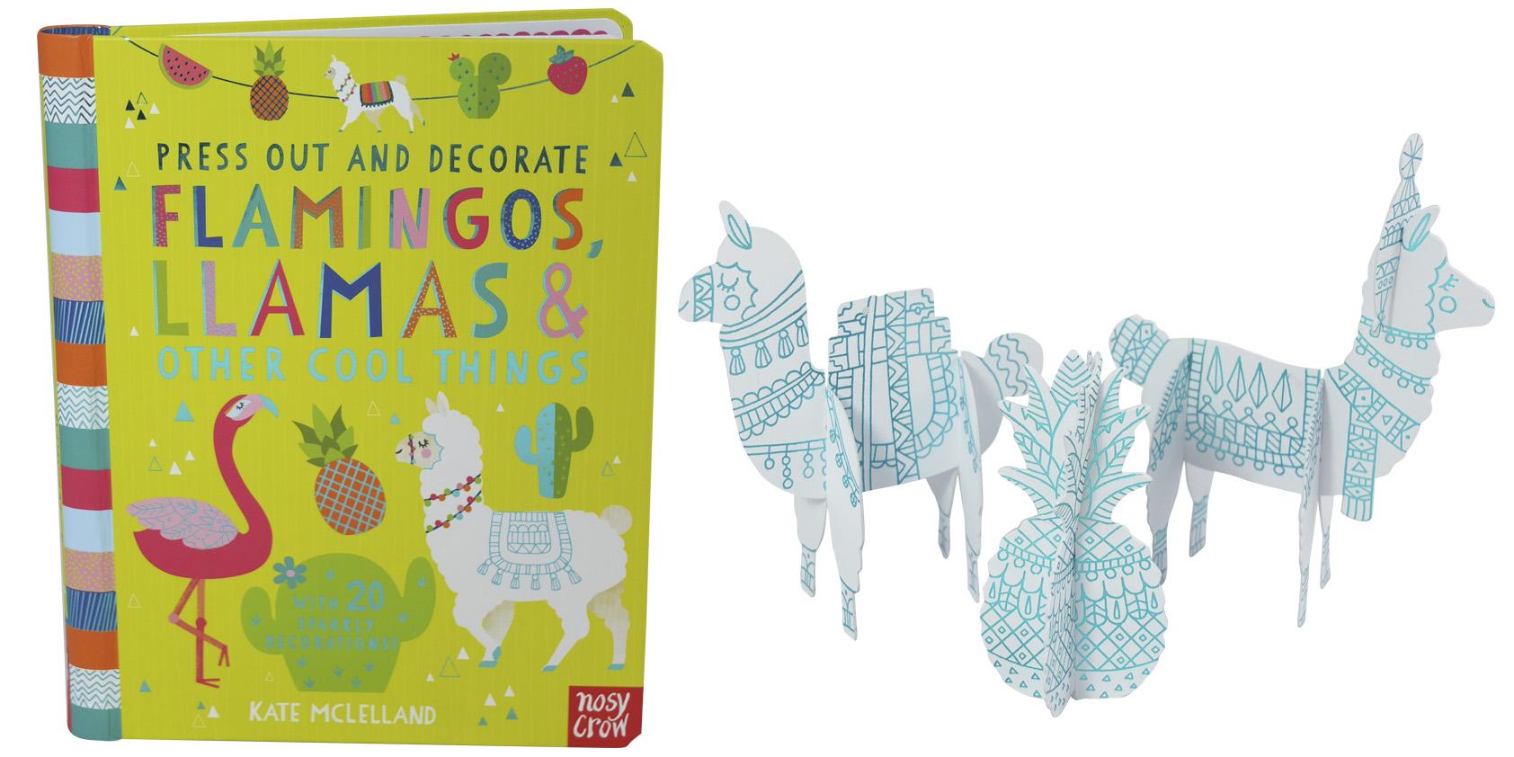 Nosy Crow Press out Flamingos and Llamas - Jo Garden design