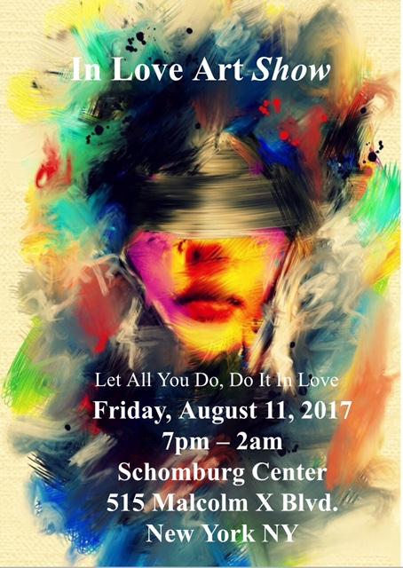 Schomburg Center - 515 Malcolm X Blvd. New York, NY.August 2017