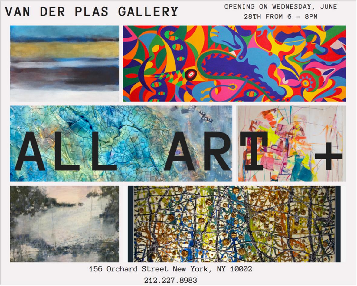 Van Der Plas Gallery - New York, NYSUMMER 2017WORK SHOWN:DATES