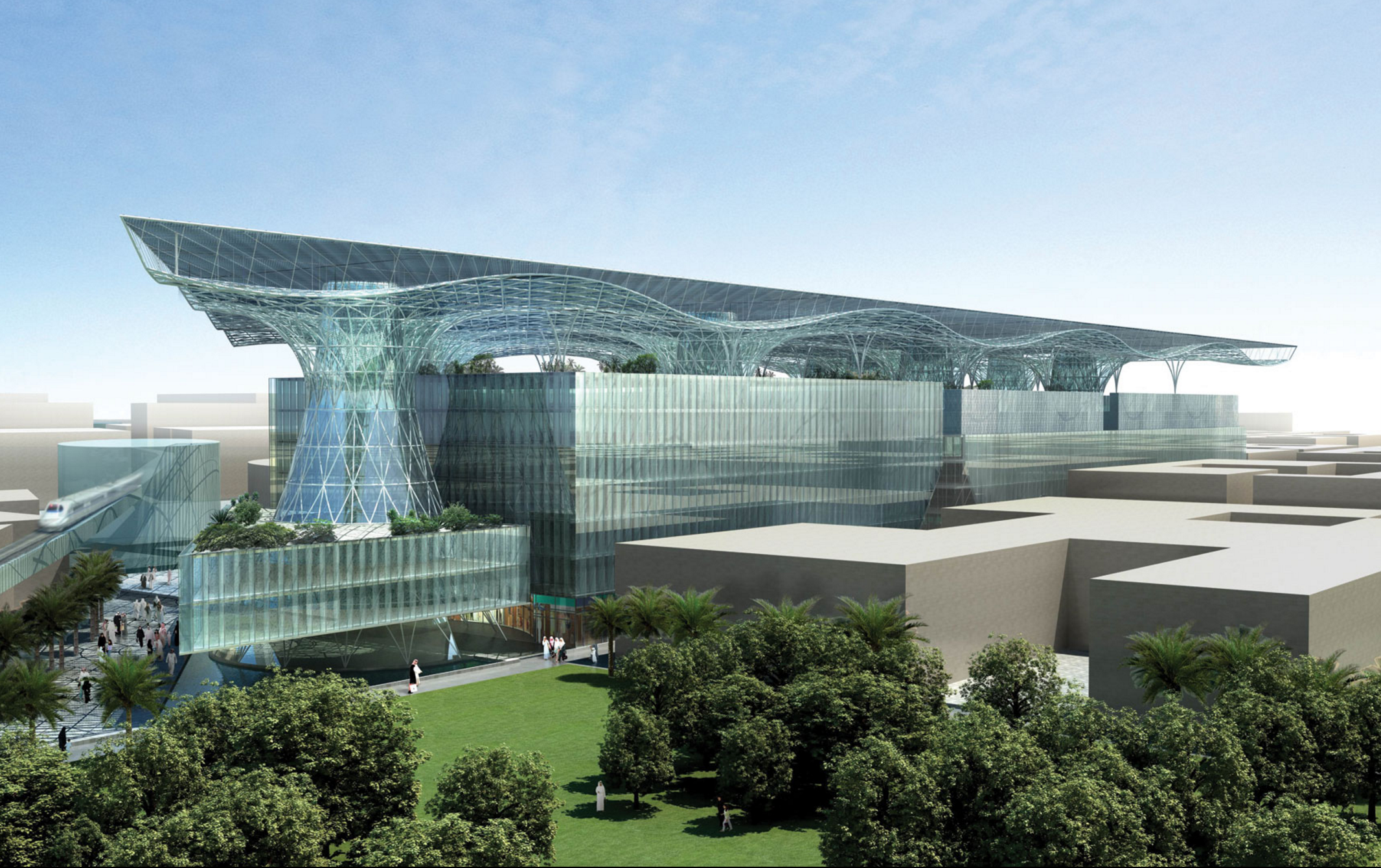 Rendering of Masdar Headquarters