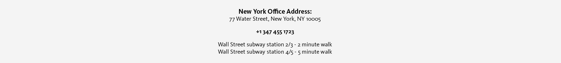 New York-office