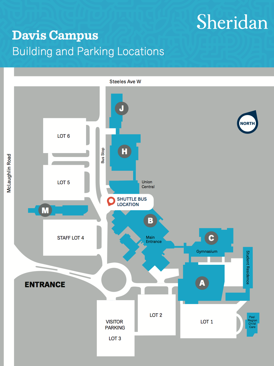 Sheridan Trafalgar Map Shuttle Bus — Sheridan Student Union