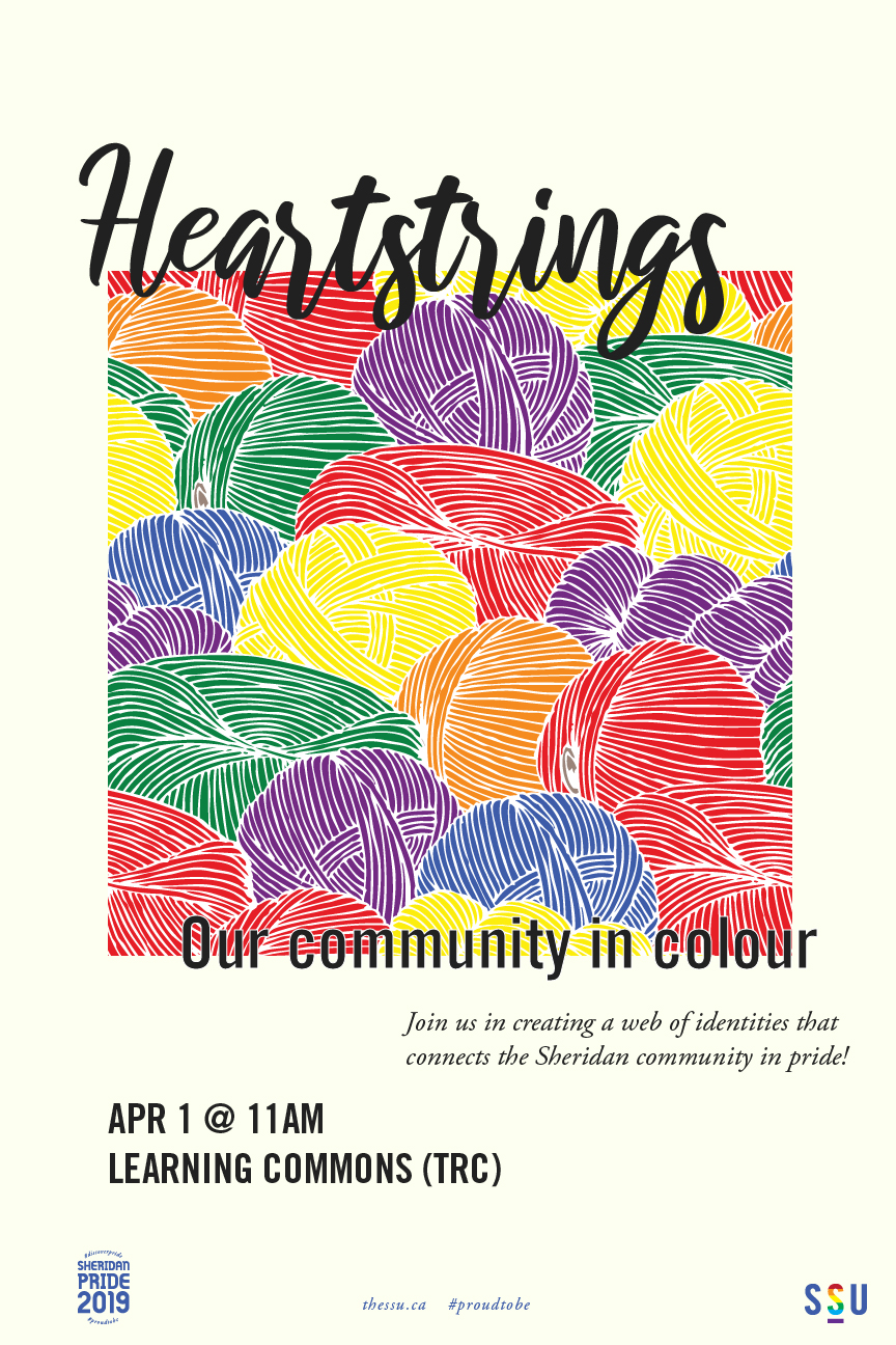 Heartstrings: Our Community in Colour — Sheridan Student Union
