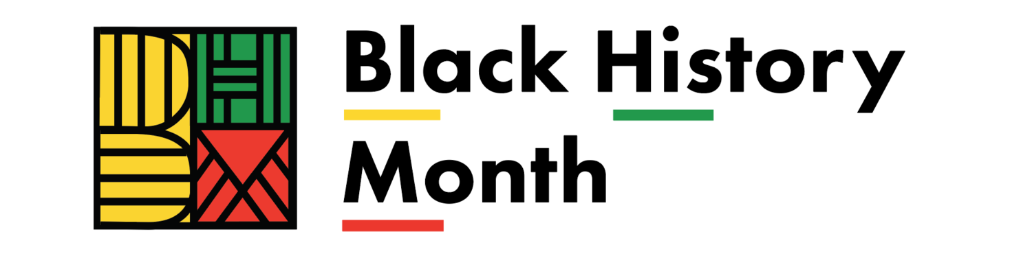 Black History Month with Designed Logo of BHM