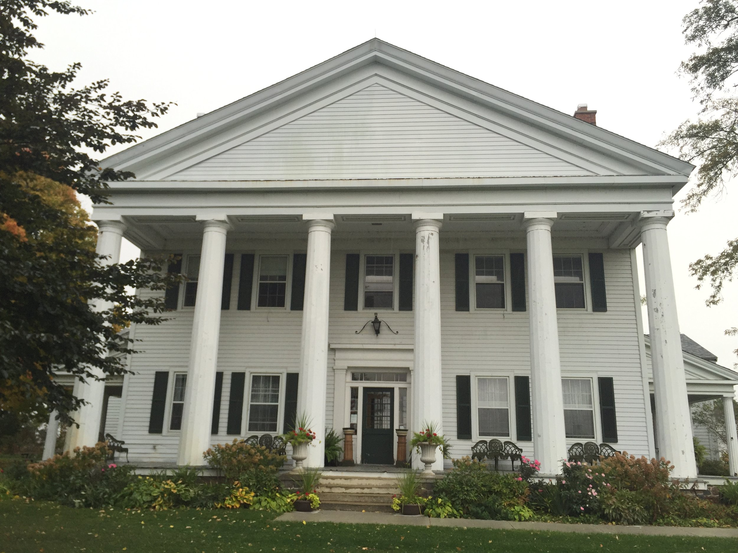 Gordon Hall, Dexter Michigan