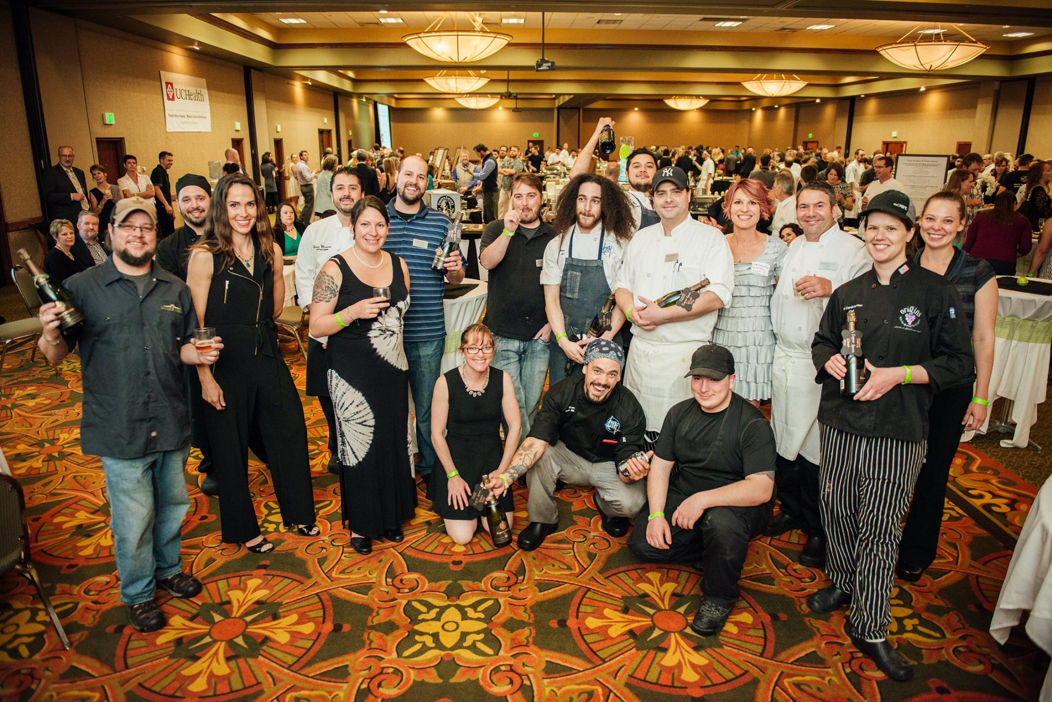 TASTE 2016 brewers and chefs