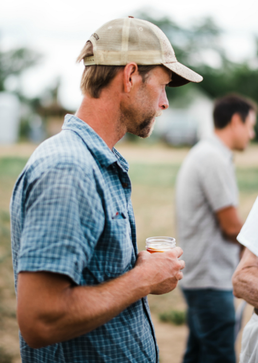 Photographic evidence that a farmer does get to relax, once in a while. So many thanks to RJ at Colorado Stock & Grain. Photos by Elise Taylor Photography.
