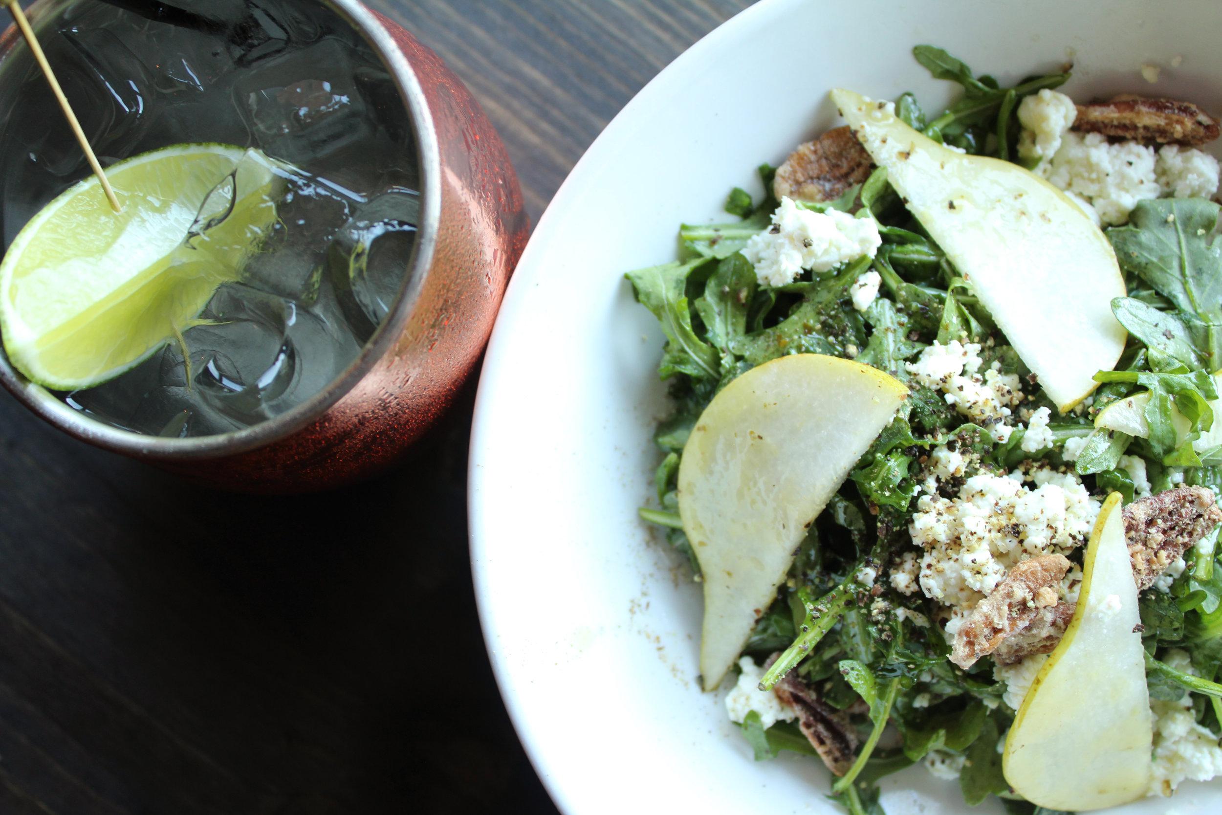 OGGI Mule & Arugula Salad