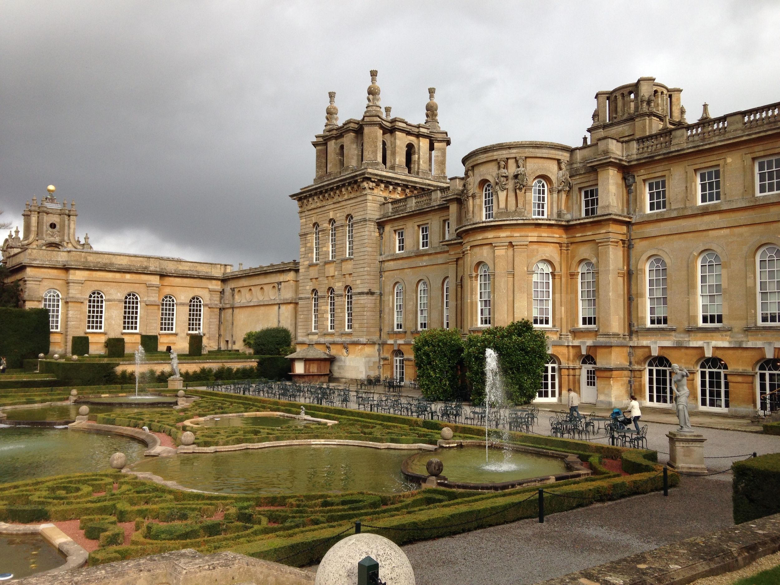 Blenheim Palace Birthday Party Nov 2014