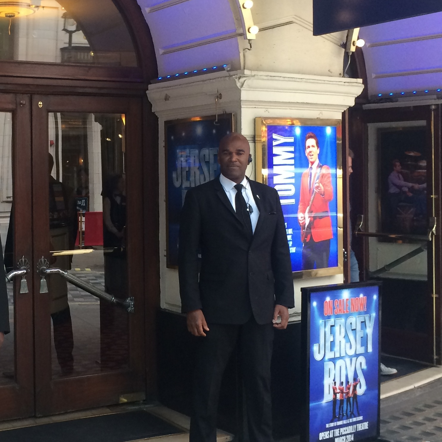 Lee/Marlon at the Piccadilly Theatre