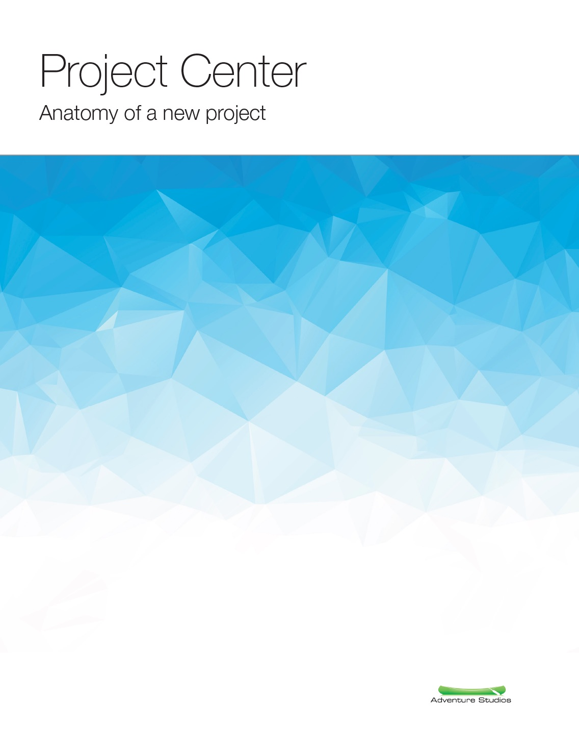 Download   ProjectCenter Overview