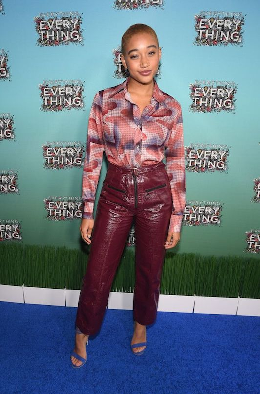 Amandla at the 'Everything, Everything' Atlanta Press Screening in Self Portrait (2017)