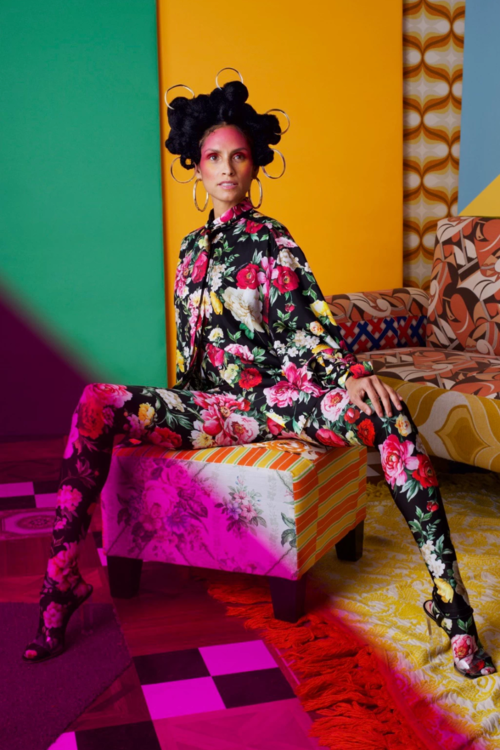 Mickalene Thomas - Garage Magazine