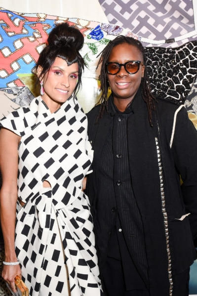 MICKALENE THOMAS AND RACQUEL CHEVREMONT -