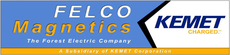 Felco Magnetic, a division of Forest Electric -- Certified as an AS9100 manufacturer of custom magnetics and transformers for complex applications and rugged environments. Also provides in-house design and engineering support.