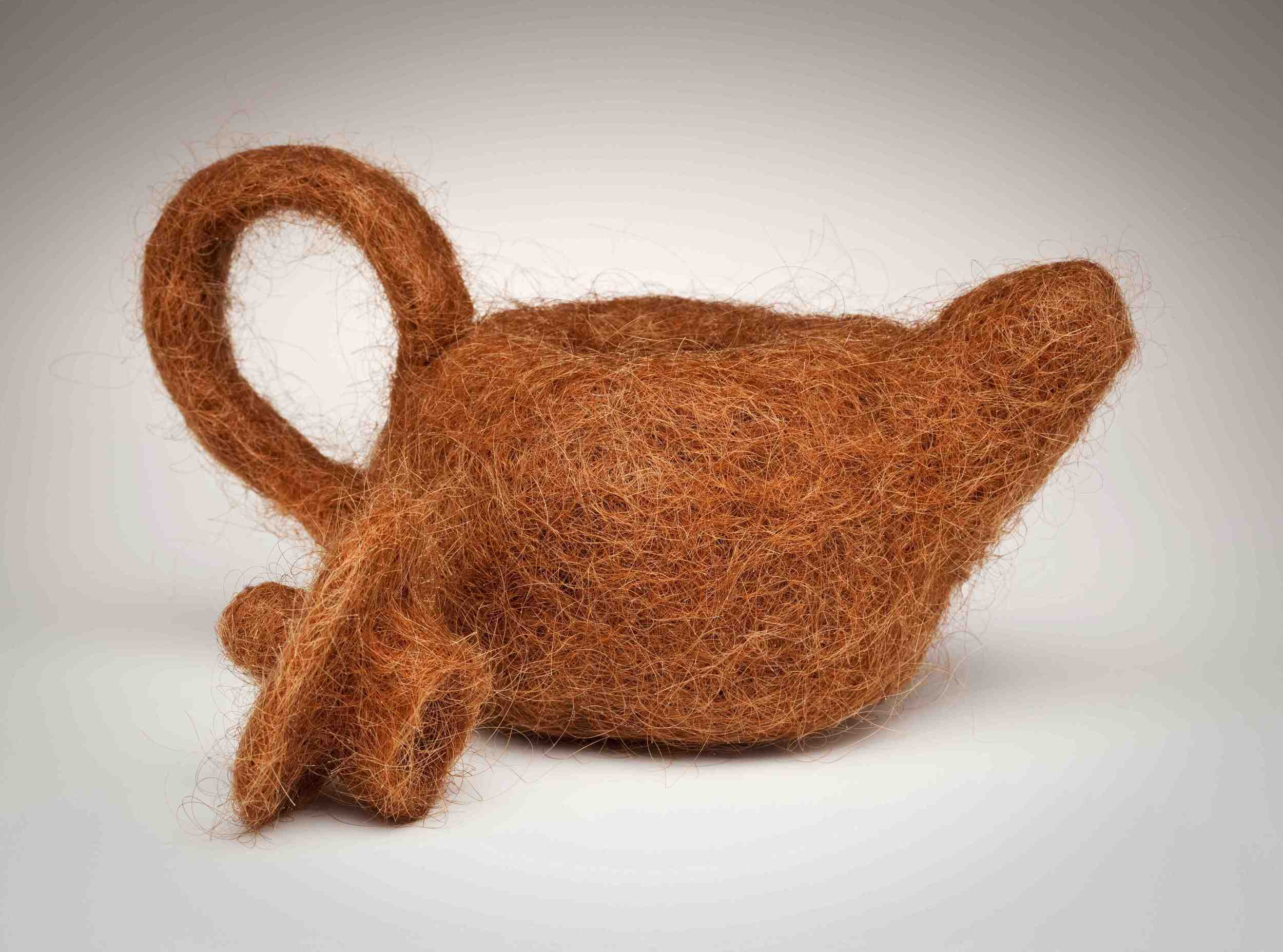 Hair Teapot and Lid