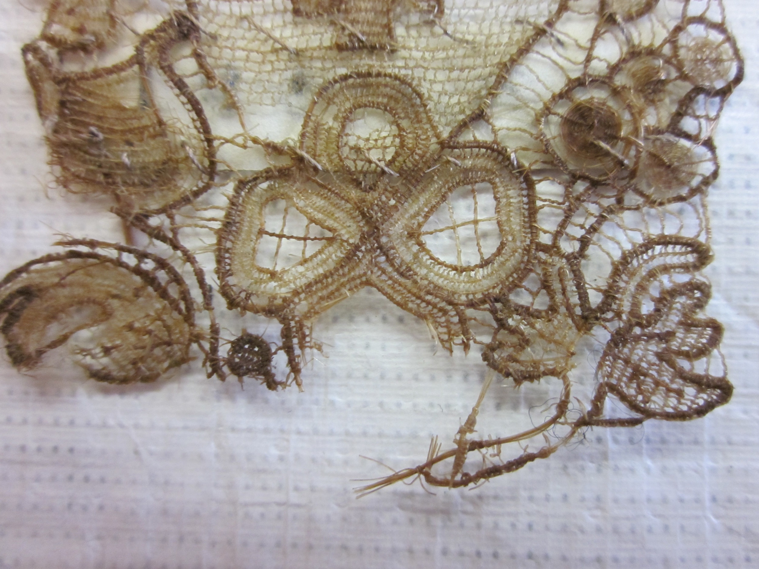 17thC Needlelace, The Victoria + Albert Museum Collection