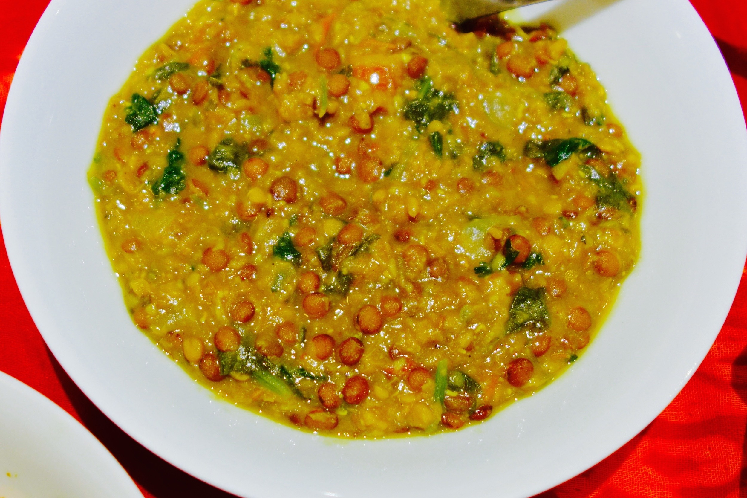 Delicious and comforting Tarka Dal.