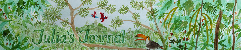 Julia's Journal Banner