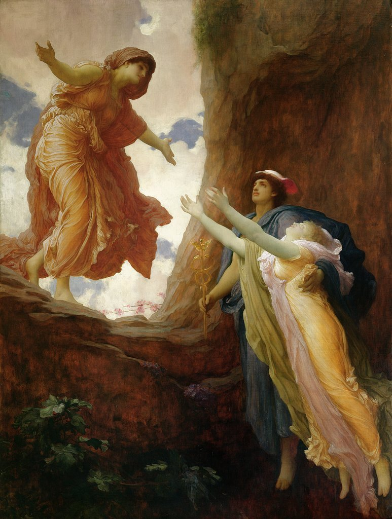 Frederic Leighton,  The Return of Persephone , 1891