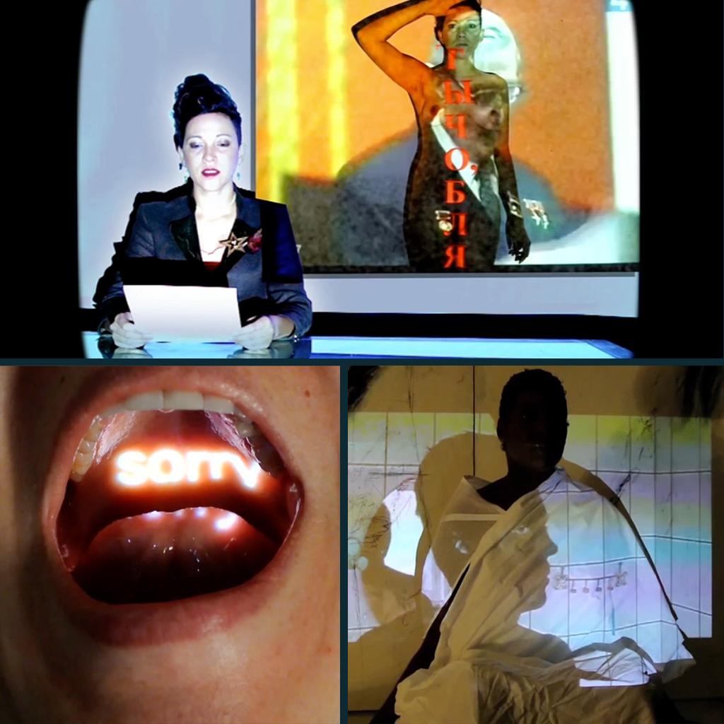 Pussy Riot Series with artist Natalia Margulis : Art Installation Video Design