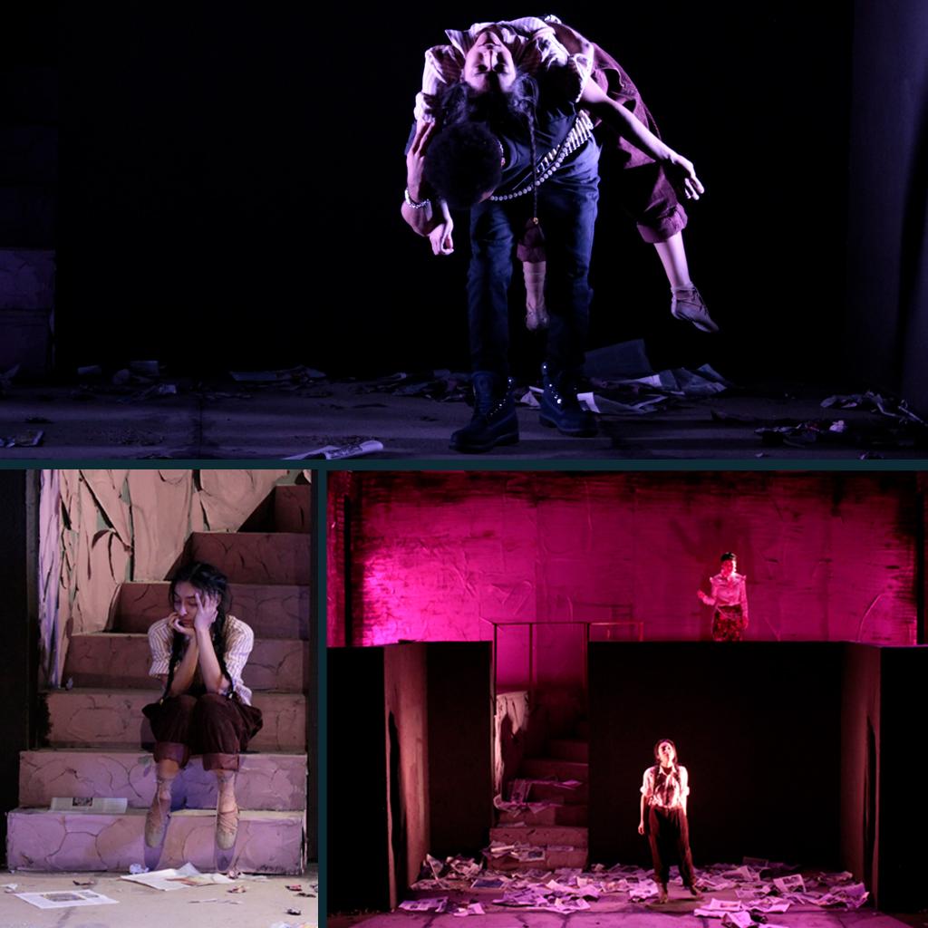 La Pasión según Antígona Pérez : Lovinger Theater, Lehman College, NYC Scenic Design