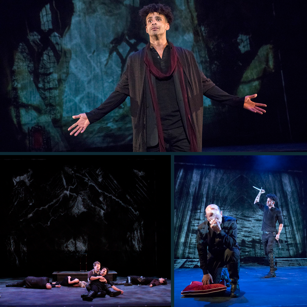 Hamlet : Aquila Theatre Comapny / National Tour Video Design