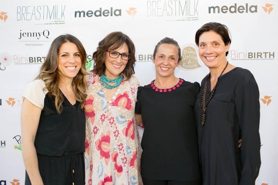 Ana Paula Markel with Abby and Ricki