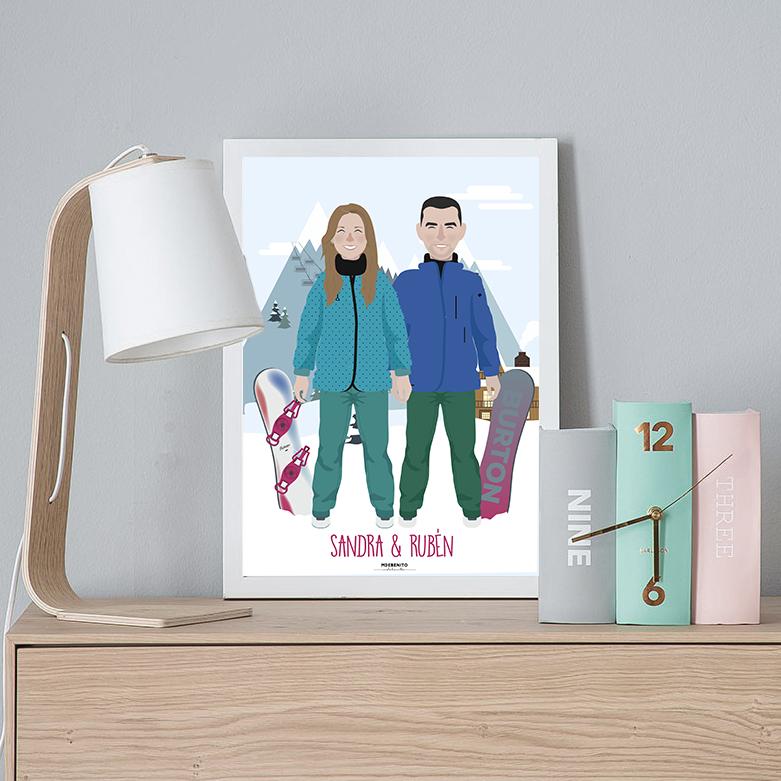 ilustracion-personalizada-mdebenito-pareja-lamina-diseño-mdebenito.jpg