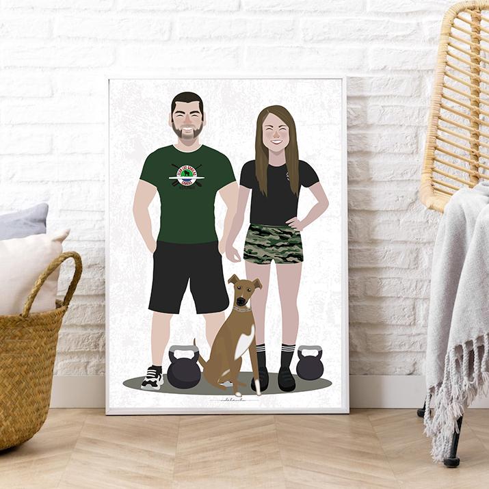 ilustracion-personalizada-boda-pareja-retrato-foto-regalo-original-perro.jpg