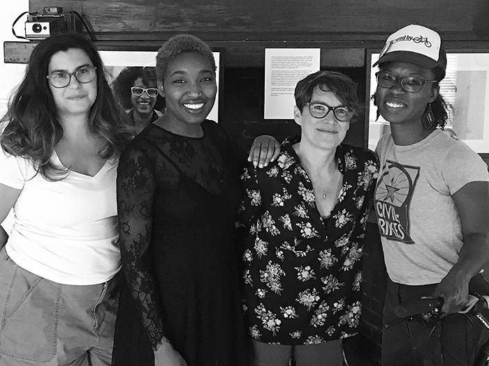 Left to right: Katie Troisi, Felicia Garcia, Vivian Liddell & Nedra Deadwyler