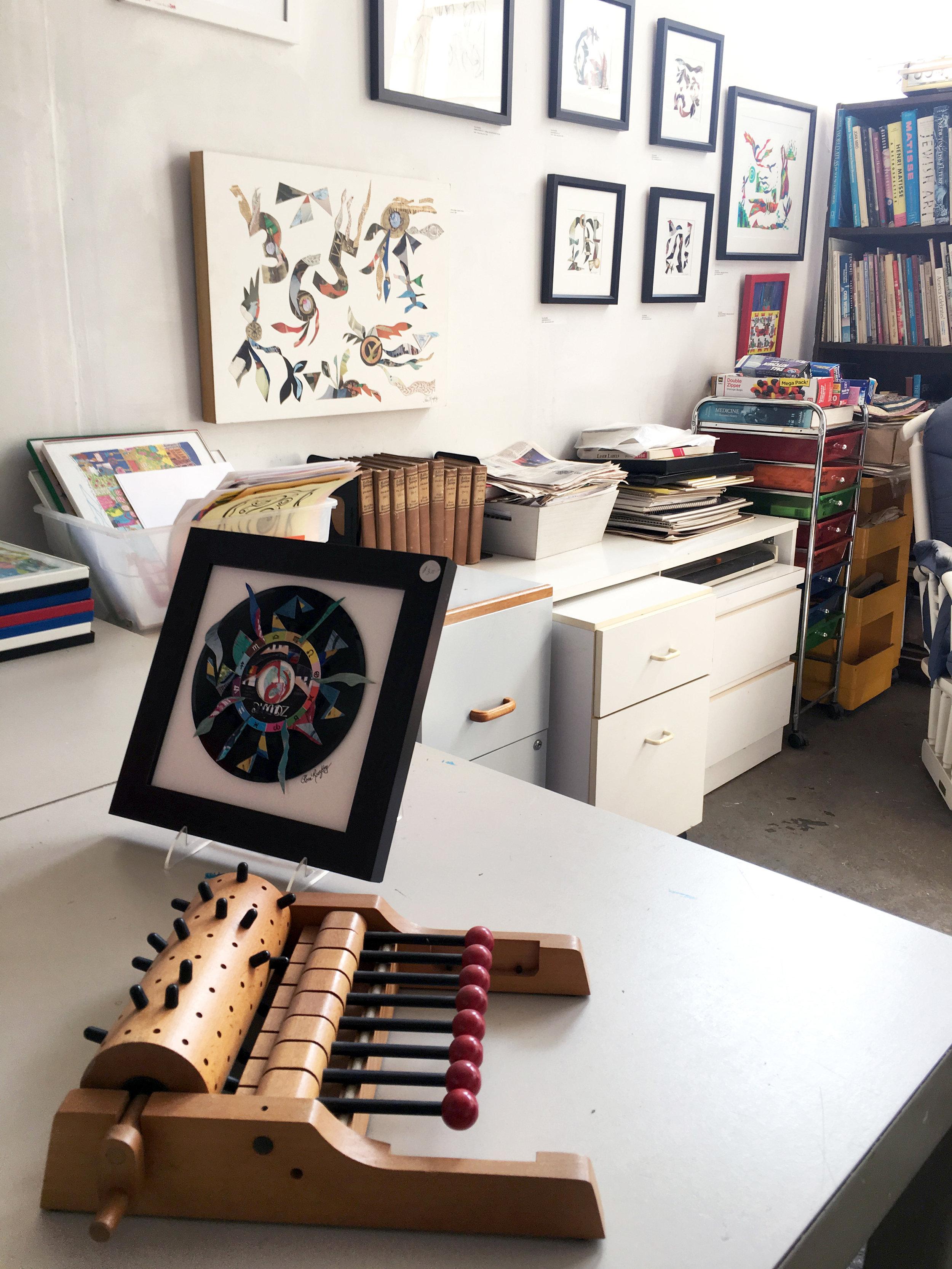 Flora Rosefsky's Studio