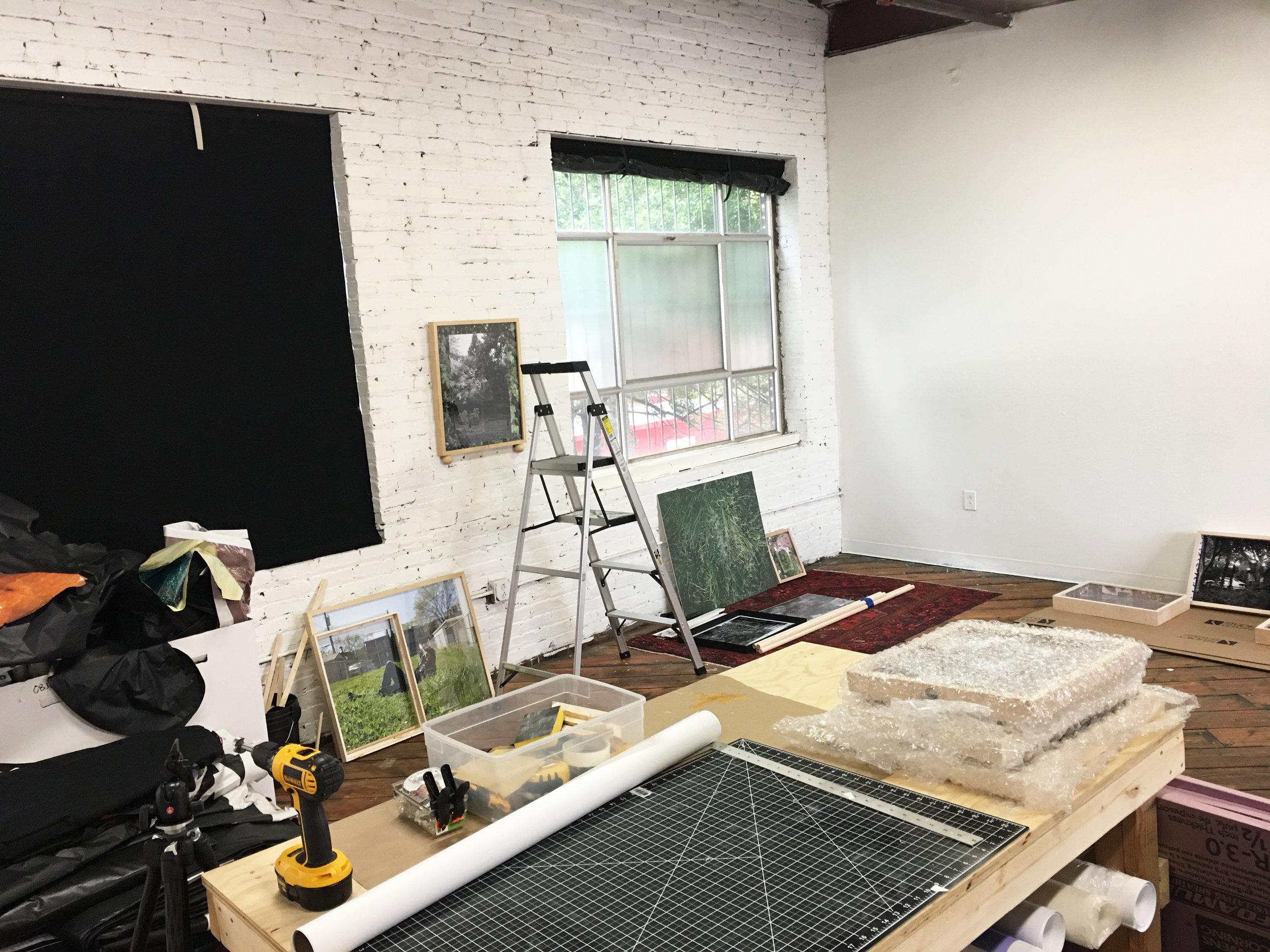 Kelly Kristin Jones' Studio at the Atlanta Contemporary