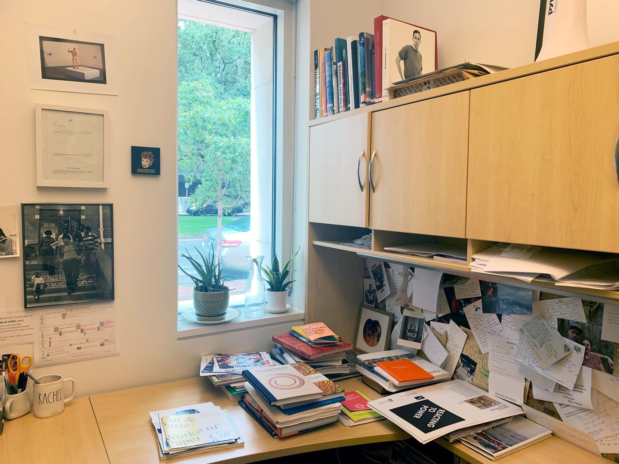 Rachel Reese's office at Telfair Museums.