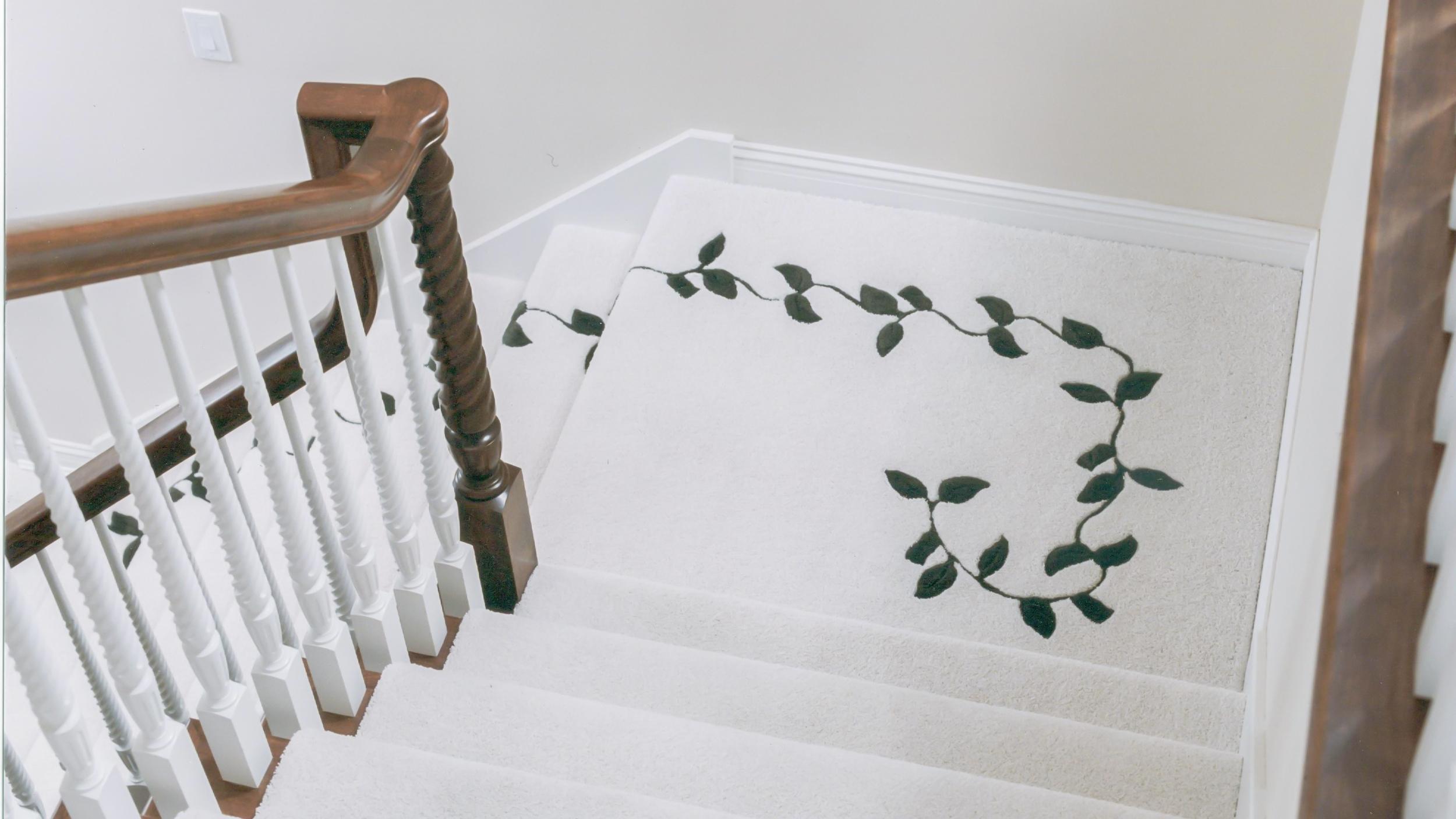 Vine Inset on Stairway