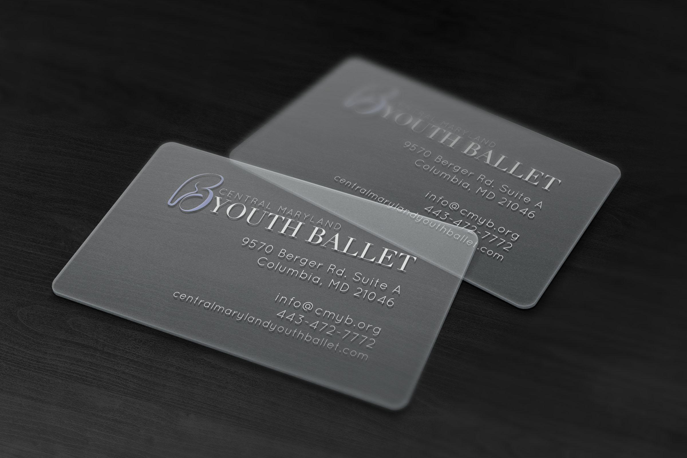 CMYB Transparent Business Cards
