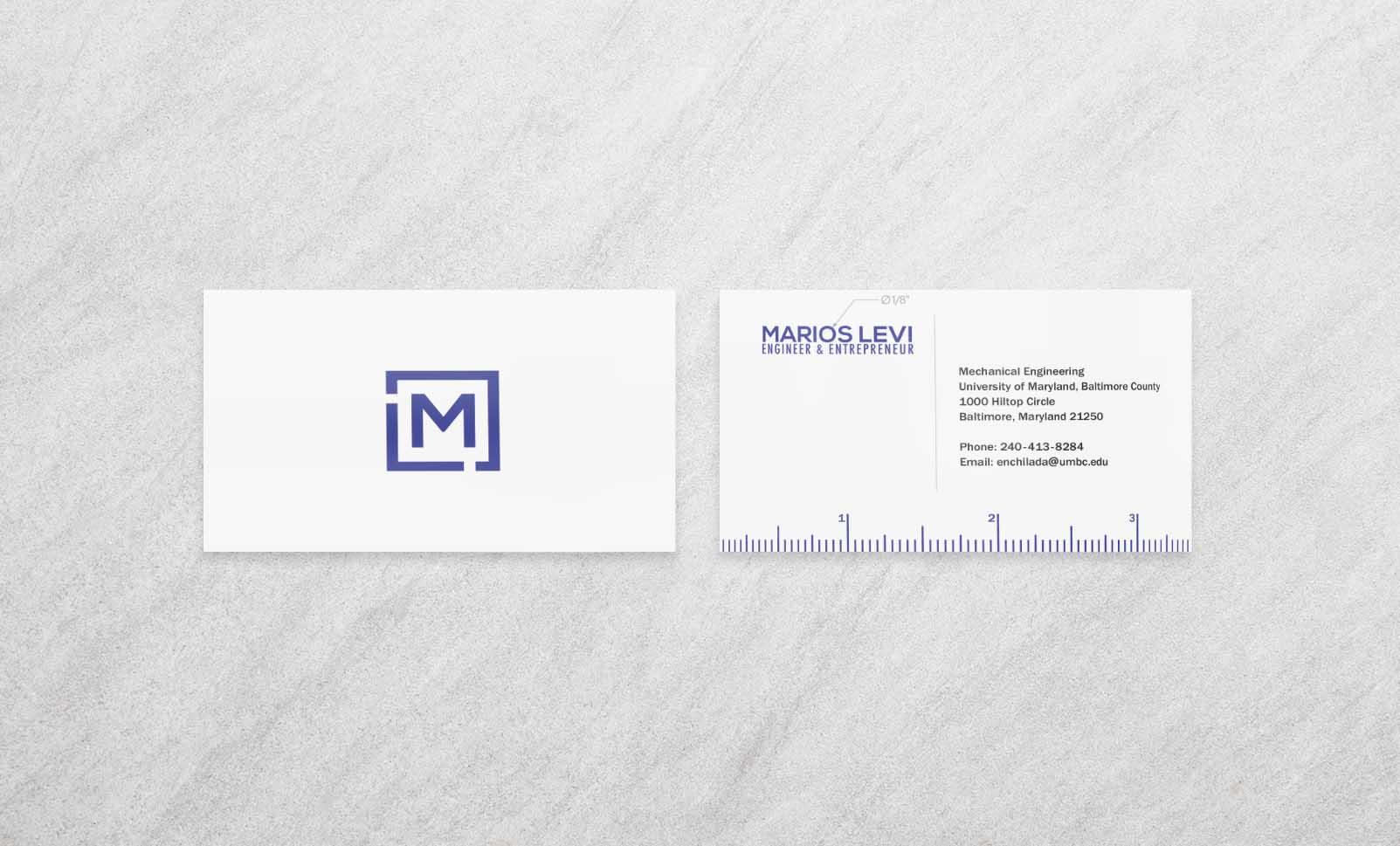 MechE Business Cards