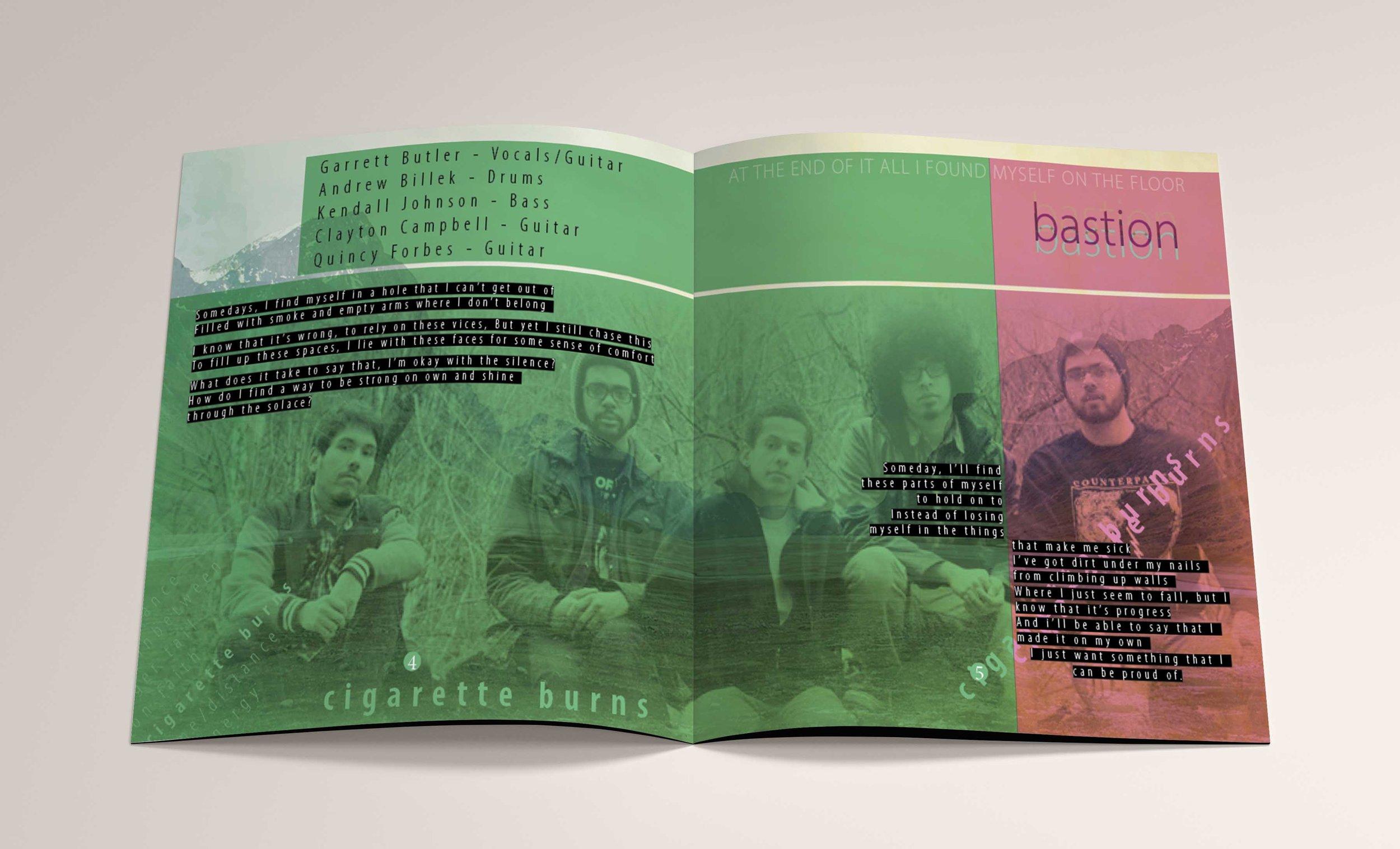 Bastion CD Booklet