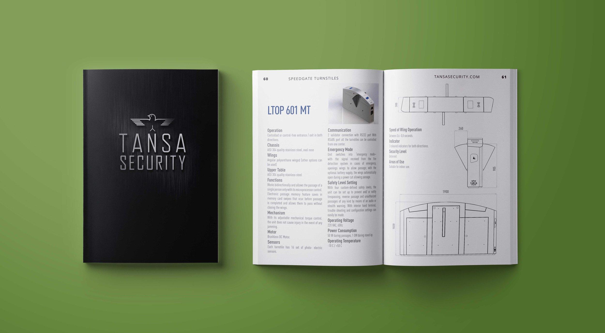 2018 Tansa Security Catalog