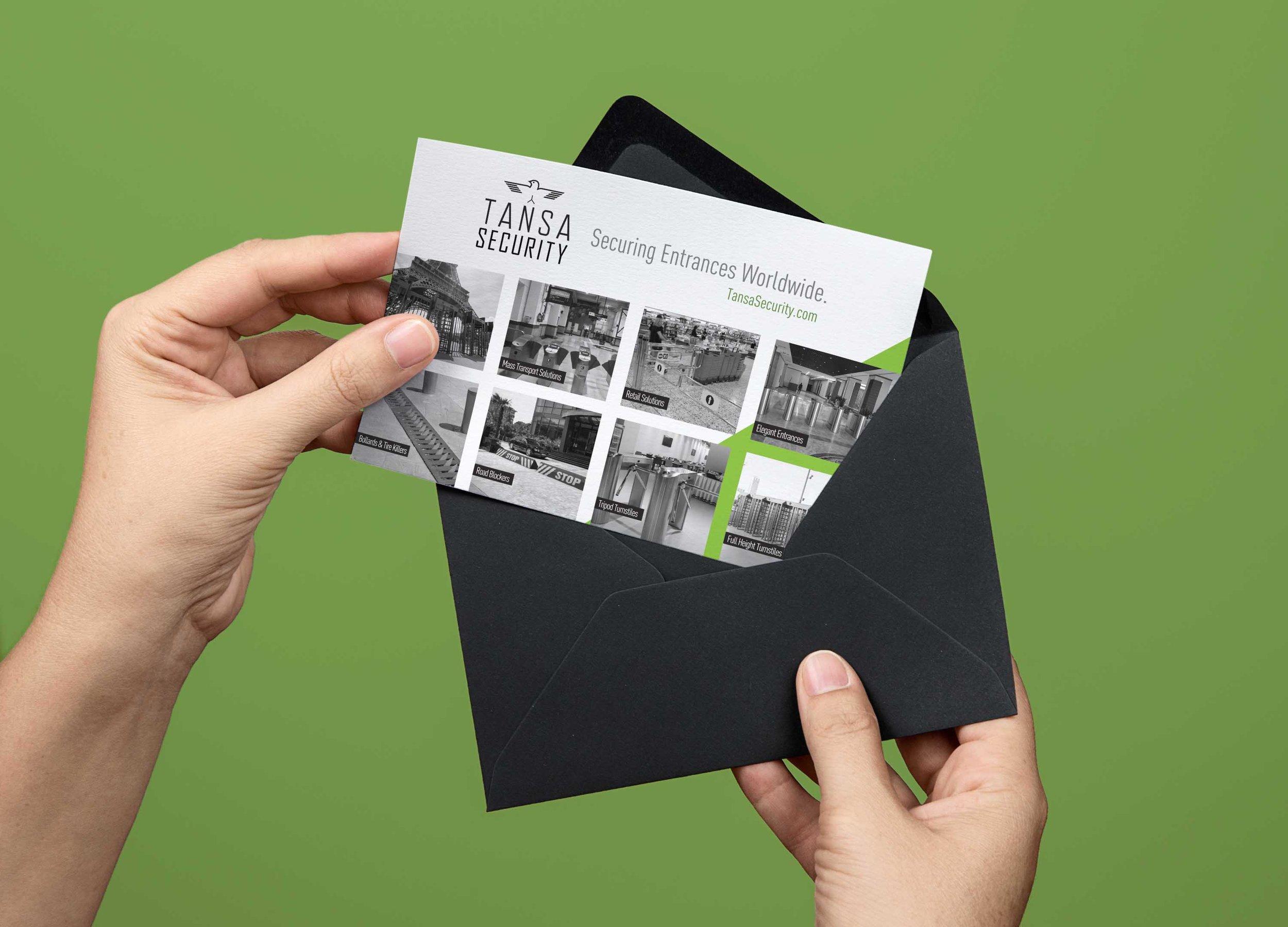 Tansa Security Postcards