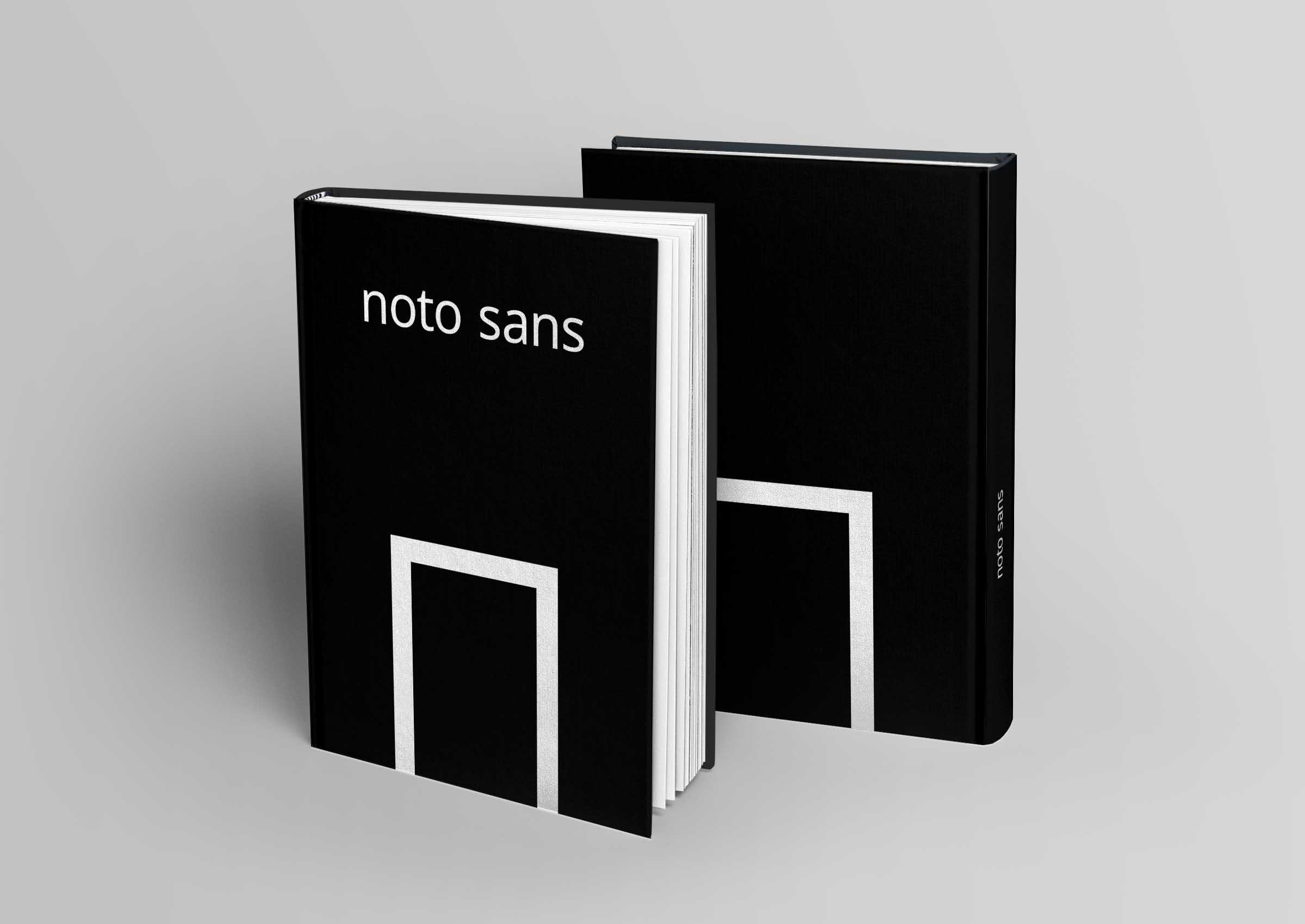Noto Sans Hard Cover
