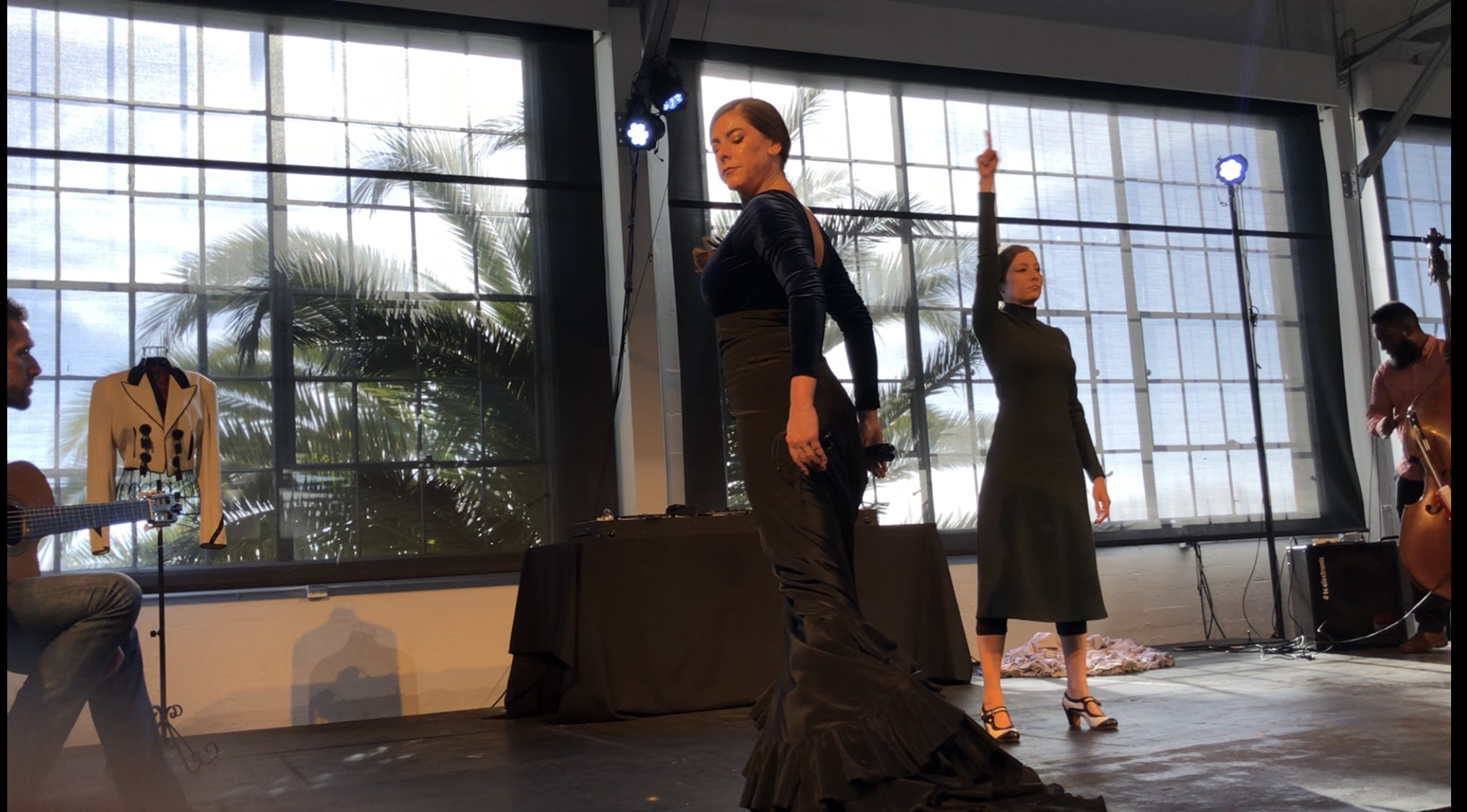 Community Engagement - Theatre Flamenco of San Francisco provides performance opportunities for local dancers and musicians at El Rincón Flamenco Show. We provided 7 El Rincón shows in 2018. We also offer special workshops by guest artists from Spain for local dancers and musicians.We provide our studio space for dance classes or small event for local artists.